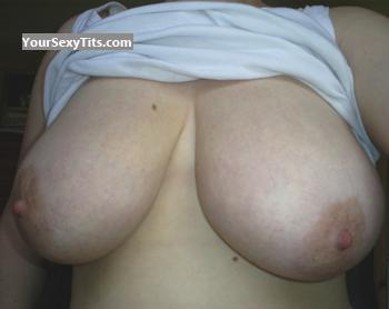 Tit Flash: Extremely Big Tits - Kathy from United States